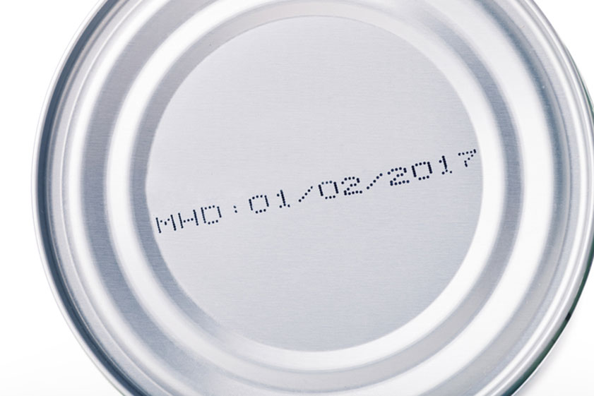 canned food with coding